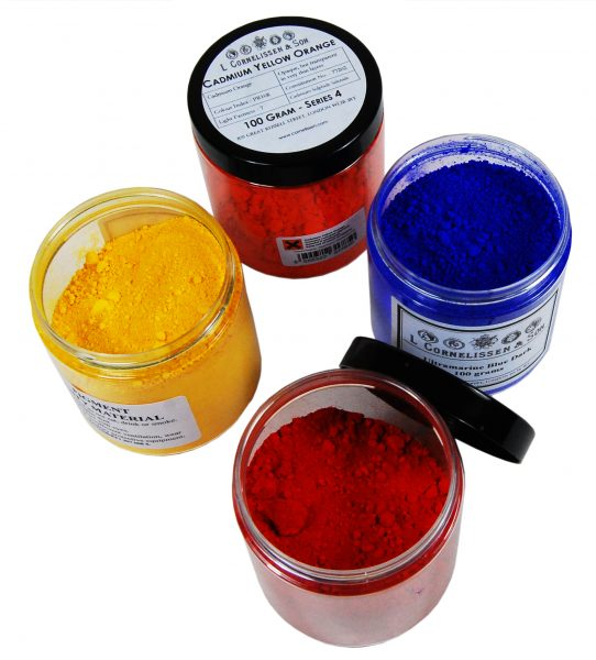 Dry Pigment Powder L Cornelissen and Son