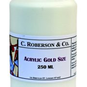 Acrylic Gold Size by C Roberson and Co