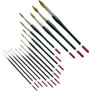 Connoisseur Round Watercolour Series 100 Brushes by Pro Arte